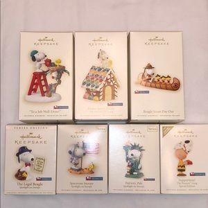 Hallmark Keepsake Ornaments Peanuts Collection